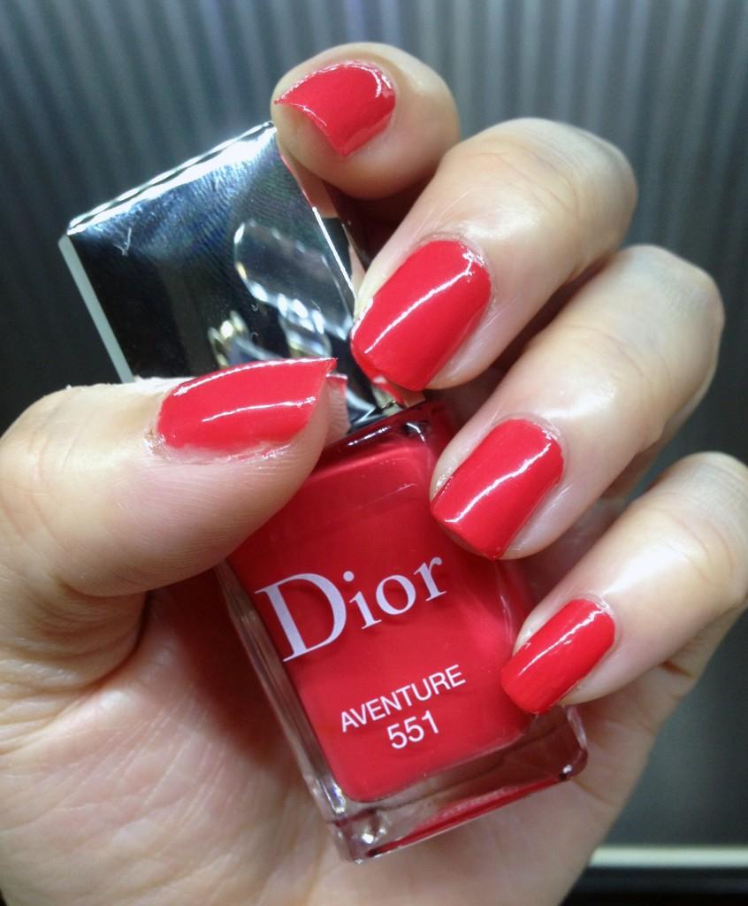 Dior Le Vernis 551 Aventure swatch