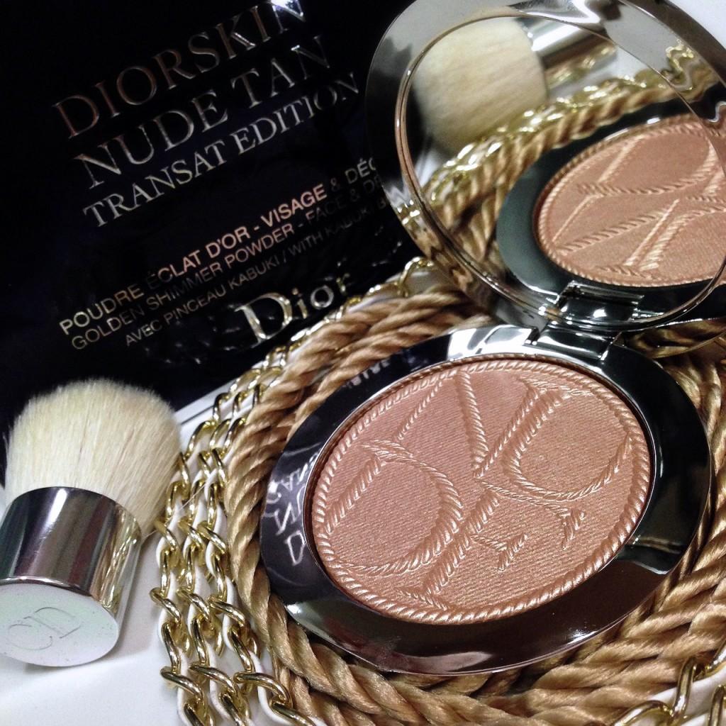 Diorskin Nude Tan Transat Edition Golden Shimmer Powder