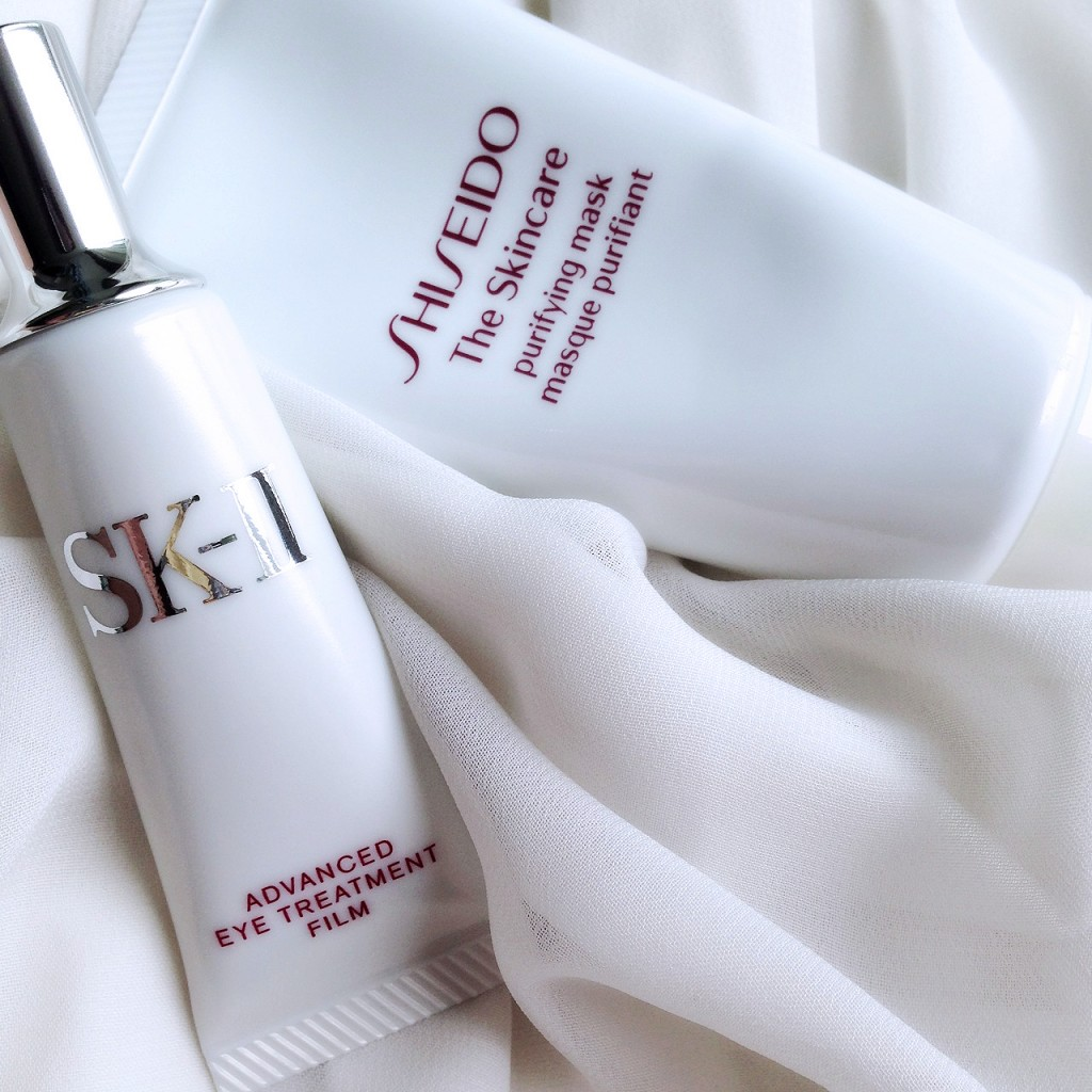 Shiseido The Skincare Purifying Mask & SK-II Advanced Eye Treatment Film