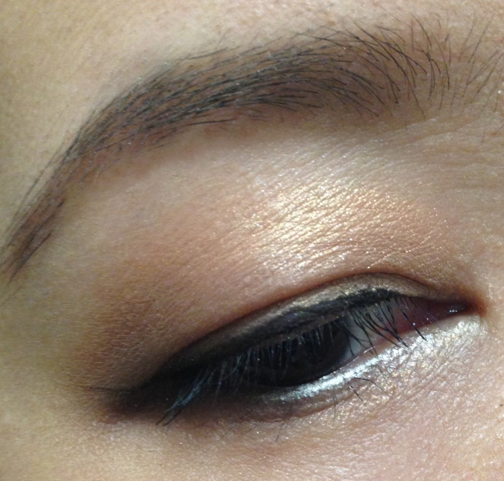Tom Ford Unabashed Eye & Cheek palette EOTD bronzer & taupe