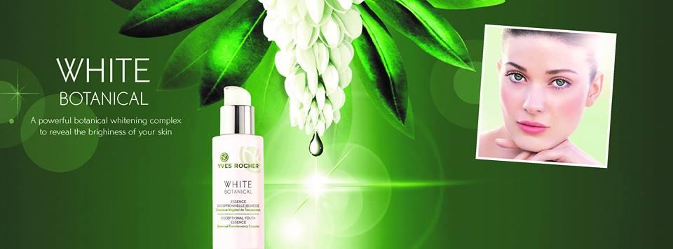 White Botanical Campaign Image
