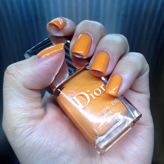 Dior Printemps-Ete 2014 nail polish