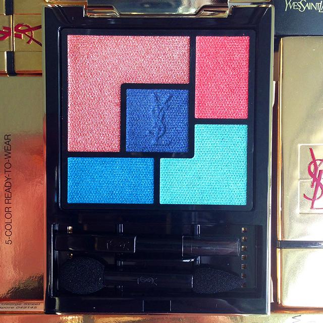 YSL Summer 2014 Bleus Lumiere palette