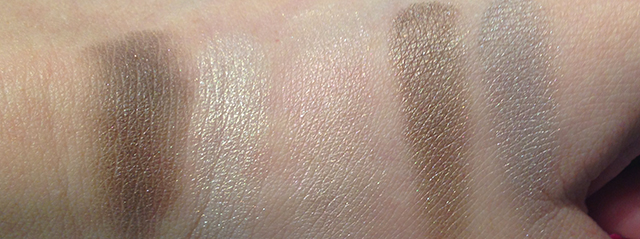 YSL Couture Palette 4 Saharienne swatches