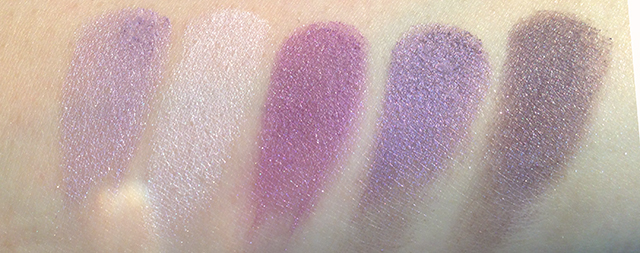 YSL Couture Palette 5 Surrealiste swatches