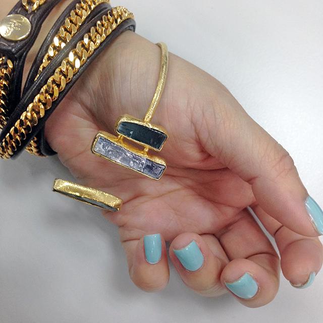 YSL La Laque Bleu Celadon swatch