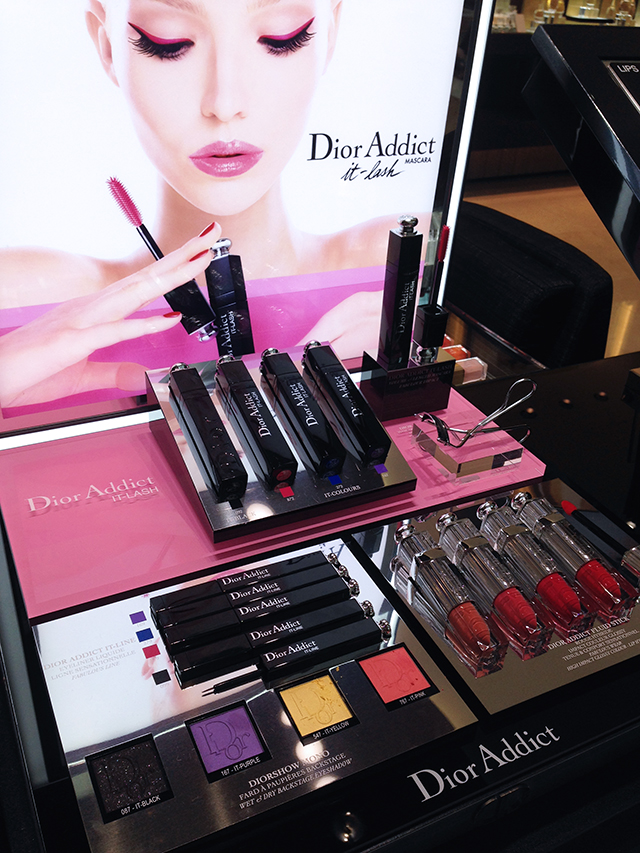 Dior Addict display