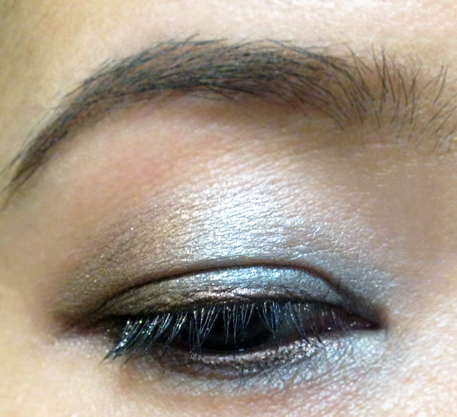 Dior Printemps-Ete 2014 backstage eyeshadow EOTD 2
