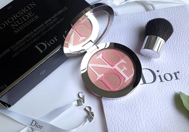 Diorskin Nude Shimmer Rose