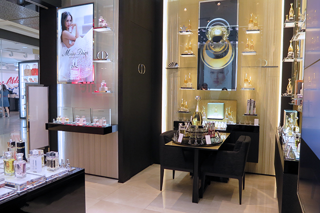 Dior Fragrance store