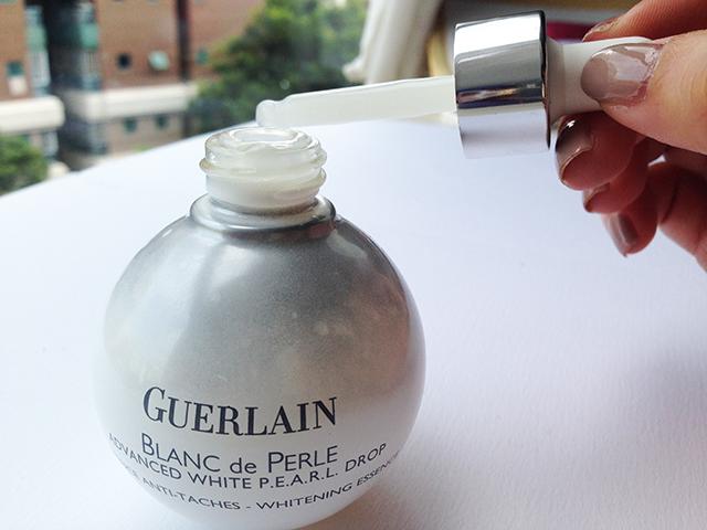 Guerlain Blanc de Perle essence dropper