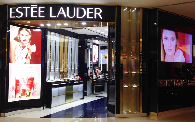 Ion Estee Lauder store front