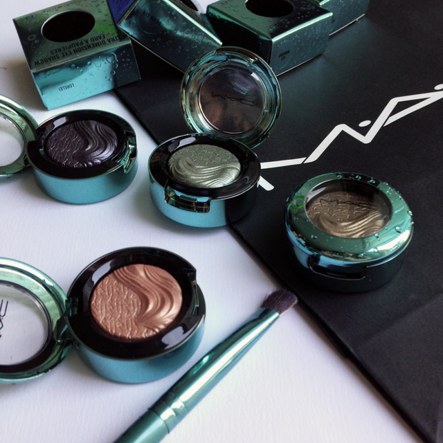 MAC Alluring Aquatics Eyeshadows