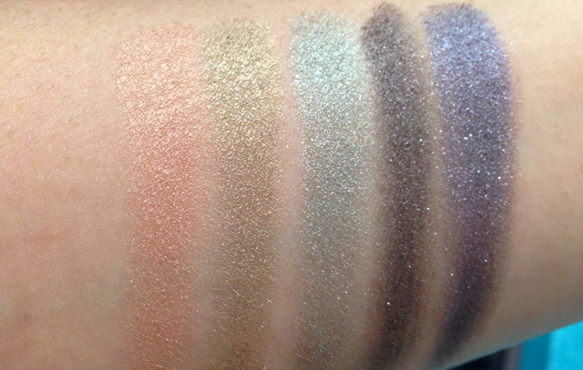 MAC Alluring Aquatics swatches