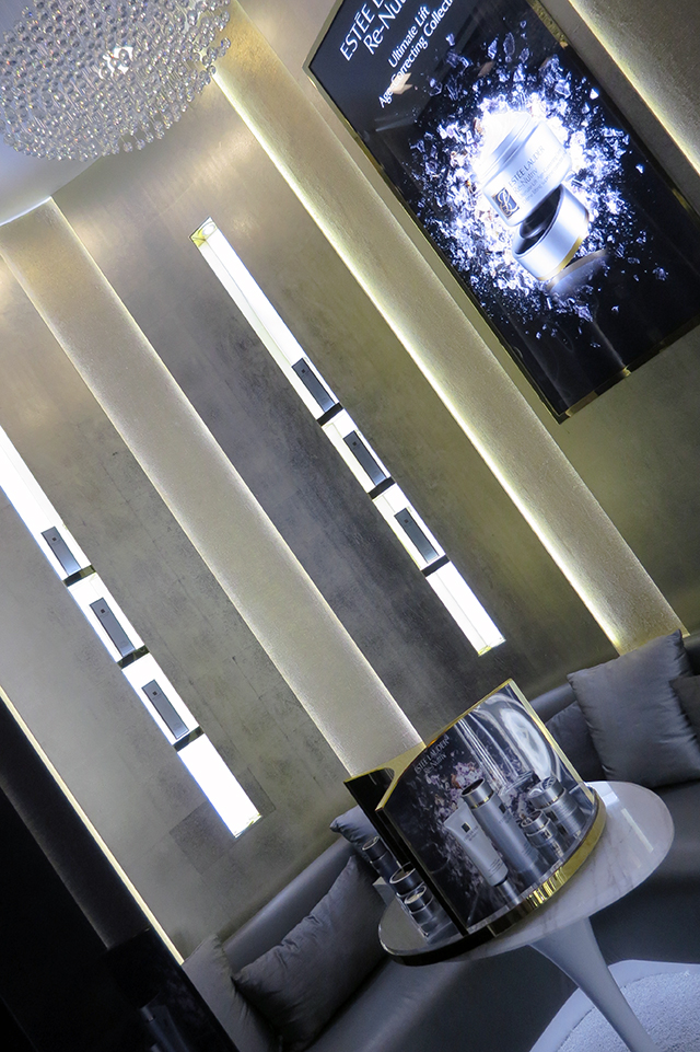 Estee Lauder Private room