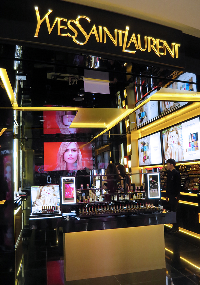 YSL Beaute Ion Singapore