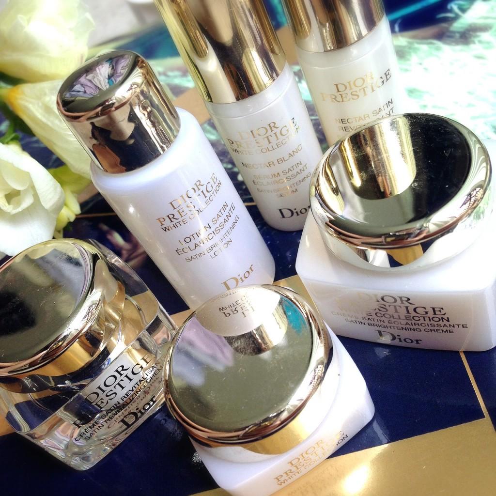Dior Prestige skincare samples