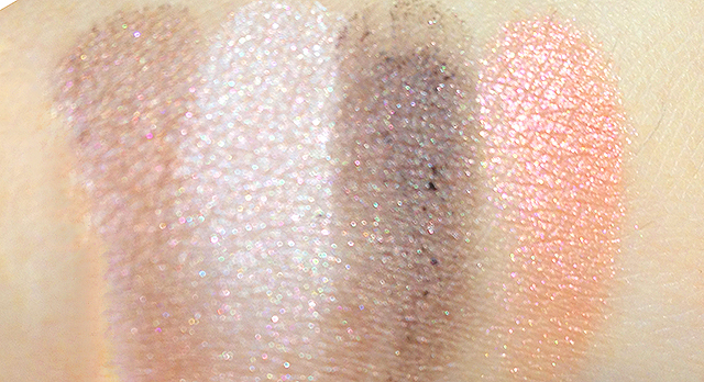 Chanel Les 4 Ombres Tisse Vendome swatches