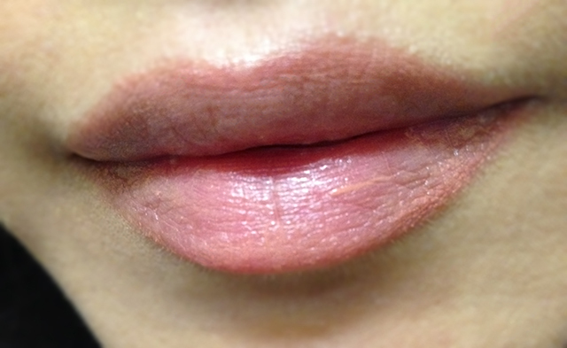 Cle de Peau Extra Rich Lipstick 210 swatch