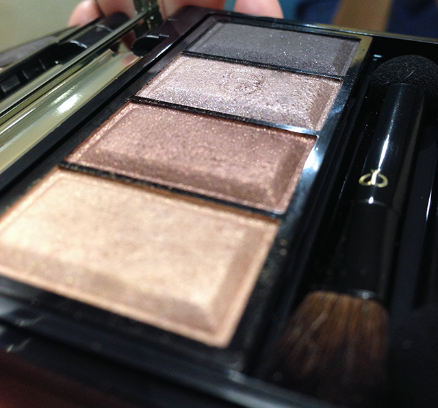 Cle de Peau Eye Color Quad 305 shimmers