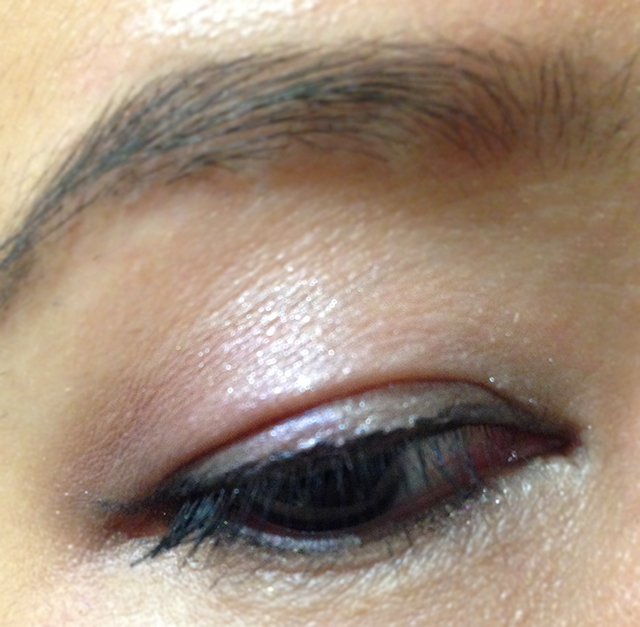 NARS Dual Intensity Eyeshadow EOTD (dry)