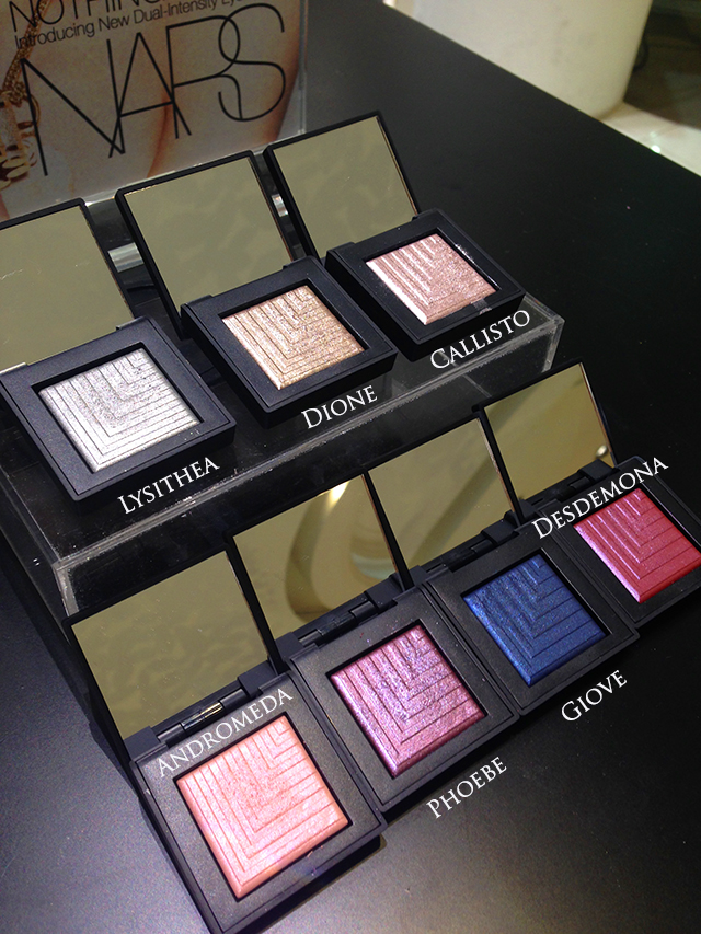 NARS Dual Intensity Eyeshadow collection
