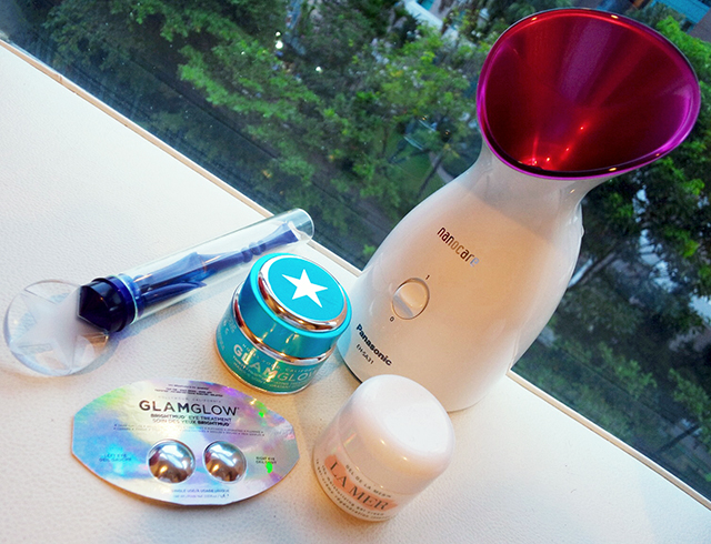 OMYSBA2014 Panasonic facial steamer for a home-spa experience
