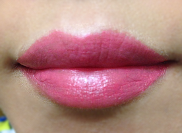 Dolce & Gabbana Passion Duo Gloss Fusion in Amaryllis swatch