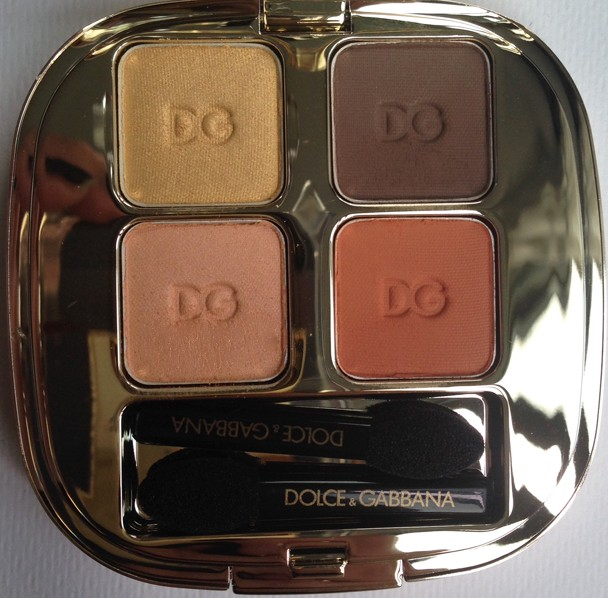 Dolce & Gabbana Smooth Eye Color Quad Tangier