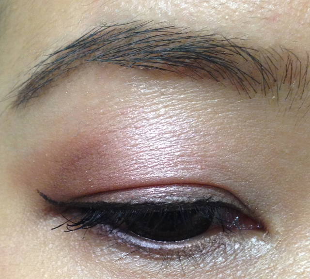 Dior Trafalgar 5 Couleurs Eyeshadow Palette EOTD 1
