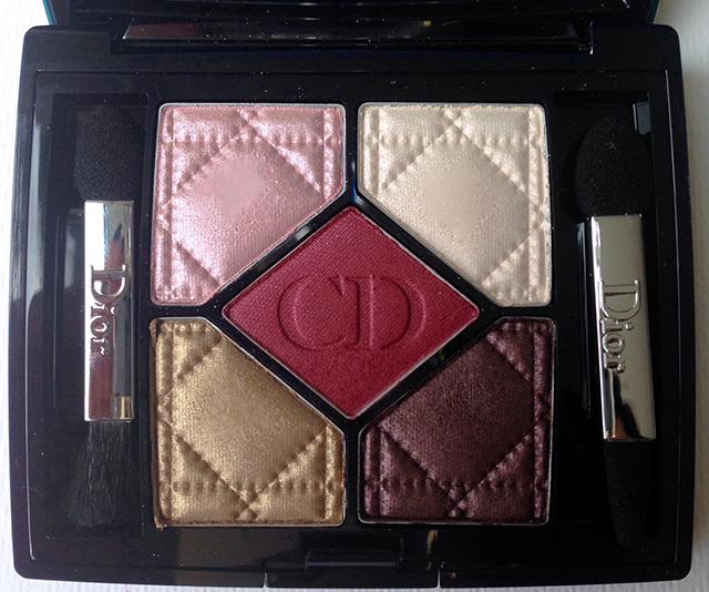 Dior Trafalgar 5 Couleurs Eyeshadow Palette for Fall 2014