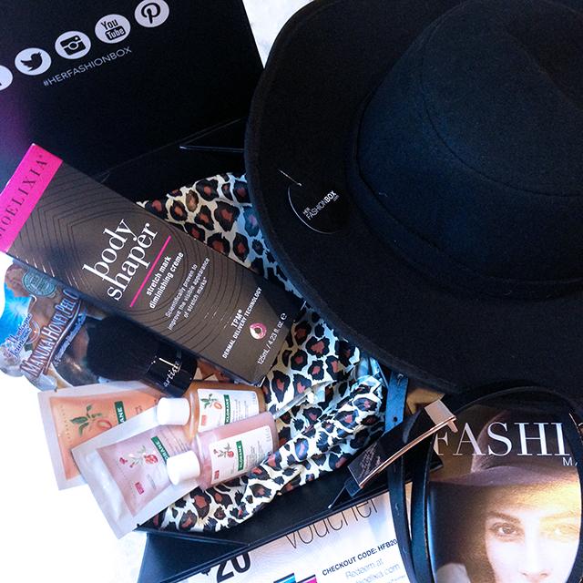 Her Fashion Box Hat Trick June 2014