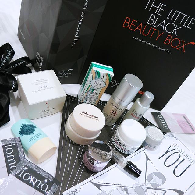 Little Black Beauty Box Aug 2014 Jetsetter