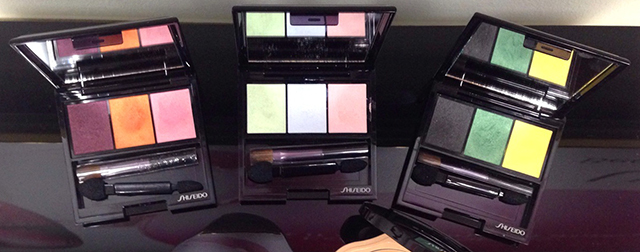 Shiseido FW2014 Luminizing Satin Eye Color Trio