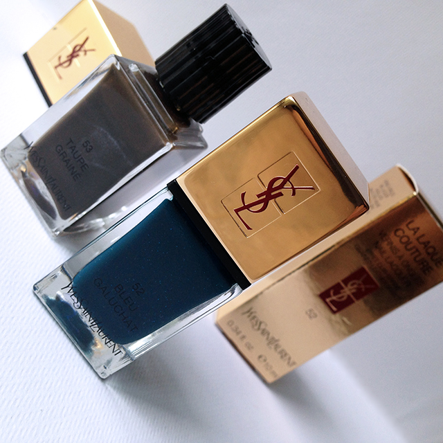 YSL La Laque Couture Les Graines for Fall 2014 Cuirs Fetiches Collection