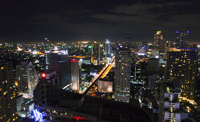 Bangkok City View from KuDeTa
