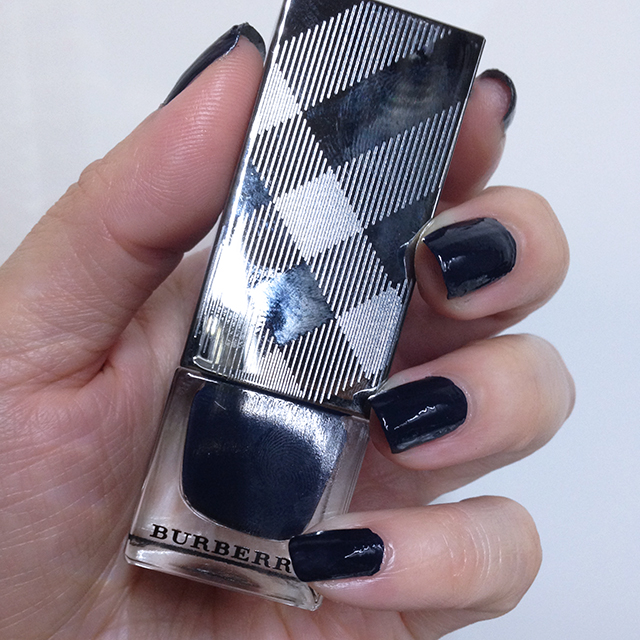 Burberry Nail Polish 425 Ink Blue swatch