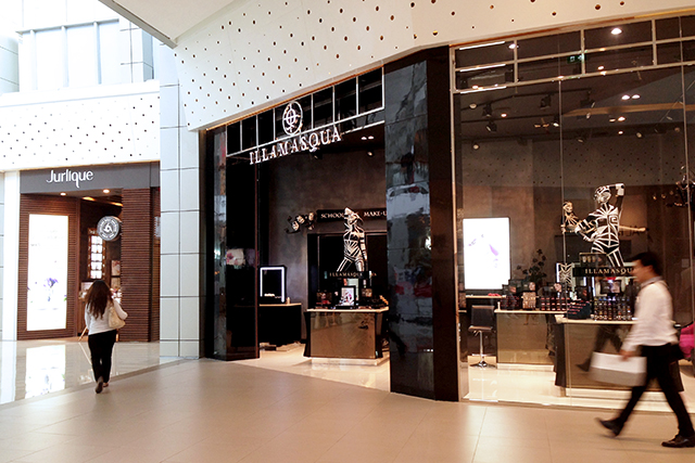 Beauty Boutiques at Central World - Jurlique & Illamasque