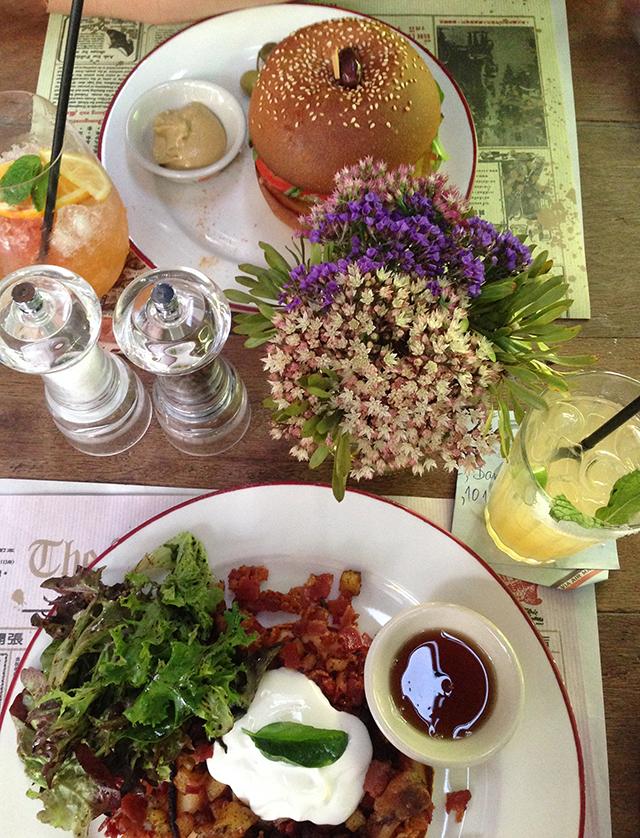 Karmakamet Diner brunch