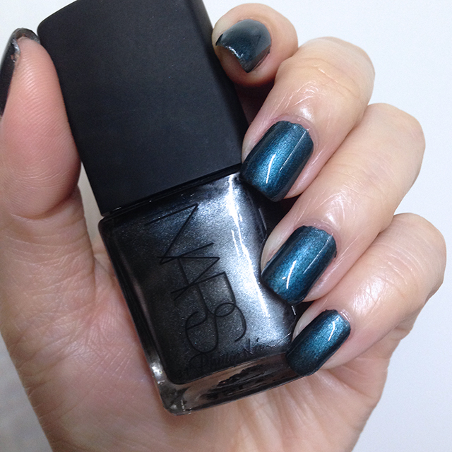 NARS x Phillip Lim Wrong Turn nail polish with top coat