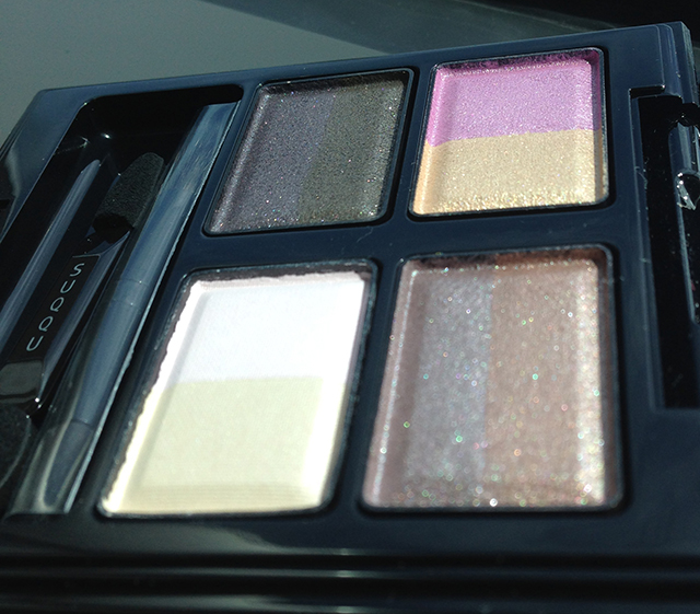 SUQQU Blend Color Eyeshadow EX-21 palette - shimmers