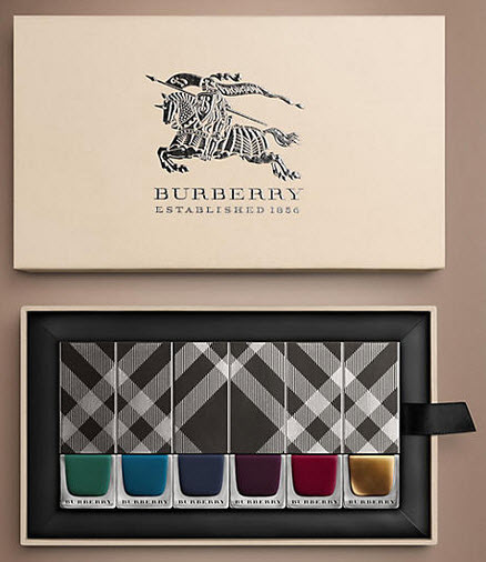 burberry FW2014 limited edition nail polish set